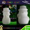 Plastica illuminata sull'indicatore luminoso di natale del pupazzo di neve LED di natale