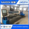 Cortadora 2016 de gas del plasma del CNC del pórtico para la hoja de metal