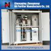 Planta Multi-Function da purificação do óleo de lubrificação do vácuo, planta da filtragem do óleo de lubrificação, tipo incluido máquina da filtração de óleo lubrificante
