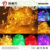 Luzes ao ar livre da corda do Natal do diodo emissor de luz para decorações da árvore