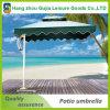 Grand parapluie de plage extérieur durable en acier en gros de jardin