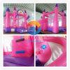 Castelo de salto da princesa Inflável Salto Casa Bouncy para miúdos