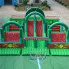 Parco di divertimenti gonfiabile con Obstacle e Slide