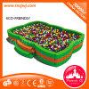 El patio plástico de los cabritos juega la piscina de la bola del océano