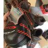 De Schoenen van de Veiligheid van het Leer van de fabrieksarbeider (de Zool van het Leer Upper+Rubber van Pu)
