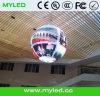 P7.62 vervollkommnen Anblick-Effekt-farbenreiche Kugel LED-Innenbildschirmanzeige
