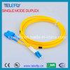 Fc-LC de Duplex Optische Verbindingsdraad van de Vezel, de Kabel van de Verbindingsdraad