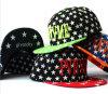 Casquillo plano del sombrero de la estrella del diseño del algodón popular del ocio