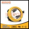Lámpara de casquillo Corded seguridad de la sabiduría Kl8ms, lámpara de la pista de la explotación minera del LED