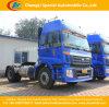 6 Vrachtwagen van de Tractor van Foton 261hptractor van wielen de Hoofd