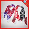 編むジャカード昇進のフットボールのファンのスカーフ