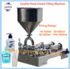 Horizontal Full Pneumatic Paste Cosmetic Filling Machine Cream Shampoo 50-500ml