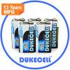 Energía del oro batería seca 6lr61 de 9 voltios