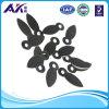 鋼鉄またはABSプラスチック額縁の長い回転ボタン