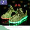 Chaussures olympiques de remplissage lumineuses de sports de la lumière DEL d'USB