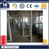 Portello di piegatura scorrevole di alluminio con la griglia di alluminio
