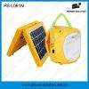 야영 또는 긴급 점화 (PS-L061)를 위한 전화 충전기를 가진 휴대용 4500mAh 6V 태양 손전등 그리고 램프