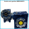 Caja de cambios de tornillo sinfín doble para la transmisión de potencia