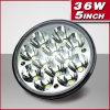 Diodo emissor de luz impermeável Headlamp de 5inch 36W Round Spot Beam 4X4 Truck (PD5SL 36W)