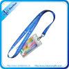 Populäres Polyester-Form-Firmenzeichen-blaue Abzuglinie mit Identifikation-Kartenhalter
