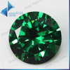 Китайский Gemstone синтетики круглой формы AAA зеленого цвета