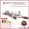 Ausgezeichnete QualitätsDienstleistung-Zwilling-Schrauben-Plastikextruder-Zeile für Gepäck