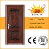 Commerical様式の安全主要な鉄の前部鋼鉄ドア(SC-S118)