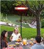 Calentador eléctrico del mejor patio infrarrojo del calentador para la comida al aire libre