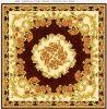 Patrón de diseño de la alfombra del azulejo de suelo de cerámica Azulejos pulido 1200 * 1200mm