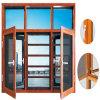 Migliore prezzo di alluminio Filippine della finestra della stoffa per tendine con le griglie Cina