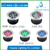 Luz subacuática inoxidable del acero LED del poder más elevado 9W