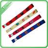 Изготовленный на заказ профессиональной Wristbands сплетенные тканью для случаев
