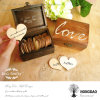 Hongdao conçoivent le cadre de mémoire en bois de notes d'amour Wholesale_L