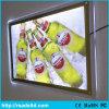 Blocco per grafici d'attaccatura acrilico del manifesto, facente pubblicità all'insegna di cristallo della casella chiara del LED