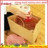 Brown-/Packpapier-Einkaufen-Handbeutel mit Griff-Zeichenkette