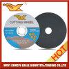 roue coupante de /Cutting de disque de 125X1.6X22.2mm pour l'acier inoxydable