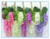 藤の花園の装飾の人工的な結婚式の花