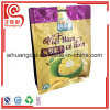 Heißer versiegelt mit Reißverschlussnahrungsmittelbeutel für das getrocknete Jackfruit-Chip-Verpacken
