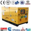 Générateur 220V silencieux de générateur diesel de refroidissement par eau de Ricardo 45kVA