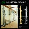 Disegno moderno per la balaustra 100% SUS304 dell'acciaio inossidabile