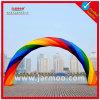 カスタム美しく膨脹可能な虹のアーチ