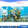 Huaxia Middelgrote Kleurrijke Children′ S Speelplaats met Dia's