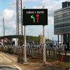 Im Freien dynamisches Meldung-Zeichen der Bildschirmanzeige-LED, Verkehrsschild-Vorstände der Verkehrssteuerungs-farbenreiche Bildschirmanzeige-LED