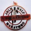 Pin do cobre da lembrança da maratona da qualidade