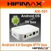 Caja de Google IPTV del androide 4.0 (AN-101)