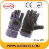 暗い家具の革産業安全作業手袋(310041)