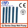Pompe à eau submersible verticale de forage de puits profond (QJ)