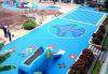 Environmentlly Safe, das modularen verschobenen Sport-Bodenbelag für Innen- und im Freien blockiert