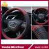 Кожаный бежевая крышка рулевого колеса автомобиля для Хонда, Тойота, Ford
