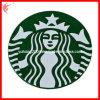 Coaster de borracha do PVC Starbucks (YH-RC030)